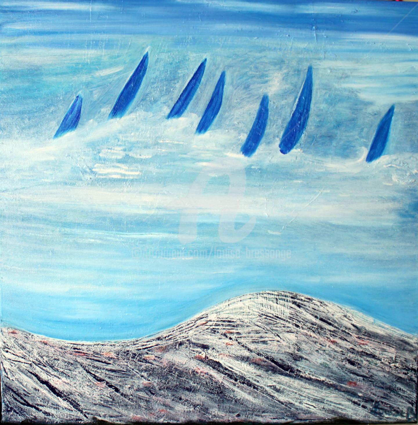 Louise BRESSANGE - Voiles dans le bleu