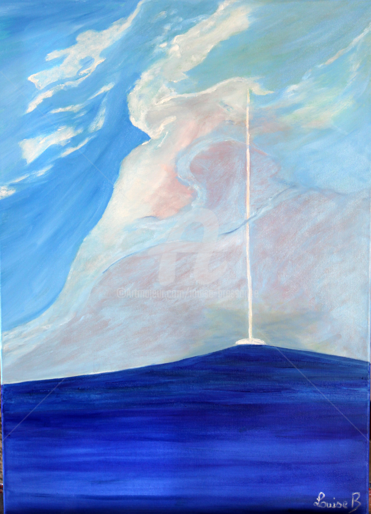 Louise Bressange - bateau-s-enfoncant-dans-les-nuages.jpg