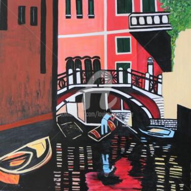 Peinture, huile, expressionnisme, œuvre d'art par Louise Bressange