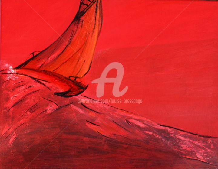 Louise BRESSANGE - bateau-ivre-sur-une-mer-rouge-de-colere.jpg